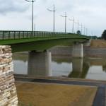 Reconstruction of Tisza bridge called II. Rákóczi Ferenc in Vásárosnamény