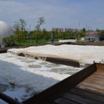 Barcs szennyvíztelepén végez felújítást az A-Híd