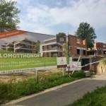 Budapest III. ker. Harsány lejtő lakóépületek kiv. építési, szerelési munkái