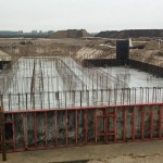 Szigetcsép 400/120 kV-os transzformátor alállomás építészeti munkái